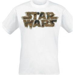 T-shirty męskie: Star Wars Chewbacca - Fur T-Shirt biały