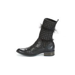 Kozaki France Mode  CASTOR. Czarne buty zimowe damskie France Mode. Za 567,20 zł.