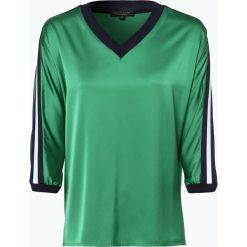 Marie Lund - Bluzka damska, zielony. Zielone bluzki sportowe damskie Marie Lund, z kontrastowym kołnierzykiem. Za 279,95 zł.