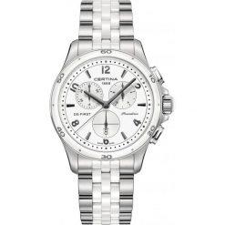 RABAT ZEGAREK CERTINA DS First Lady Ceramic. Czarne zegarki damskie CERTINA, ceramiczne. W wyprzedaży za 2220,00 zł.