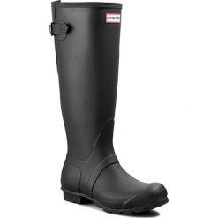 Kalosze HUNTER - Orginal Back Adjust WFT1001RMA Black. Czarne buty zimowe damskie Hunter, z kauczuku. Za 489,90 zł.