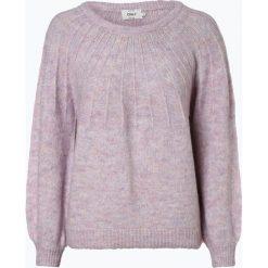 ONLY - Sweter damski z dodatkiem alpaki – Onlhanna, różowy. Szare swetry klasyczne damskie marki ONLY, s, z bawełny, z okrągłym kołnierzem. Za 159,95 zł.