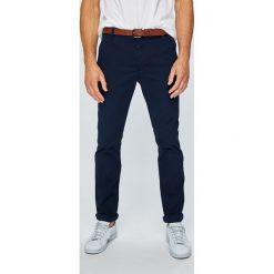 Review - Spodnie 10740502783. Niebieskie chinosy męskie marki Review. Za 169,90 zł.