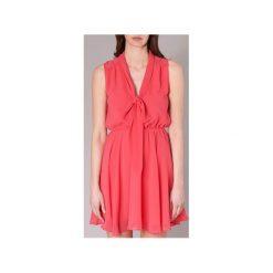 Sukienki krótkie Molly Bracken  JUNCIO. Czerwone sukienki hiszpanki Molly Bracken, l, z krótkim rękawem, mini. Za 207,20 zł.