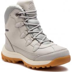 Trekkingi ELBRUS - Dandy Mid Wp Wo's High Rise/Glacier Grey. Szare buty trekkingowe damskie marki ELBRUS. W wyprzedaży za 259,00 zł.