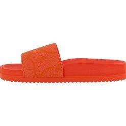 """Chodaki damskie: Klapki """"Pool Lemon"""" w kolorze pomarańczowym"""