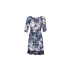 Sukienki krótkie Cream  COLETTE. Niebieskie sukienki hiszpanki Cream, z krótkim rękawem, mini. Za 279,30 zł.