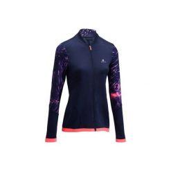 Bluza fitness cardio 500. Czarne bluzy sportowe damskie DOMYOS. Za 79,99 zł.