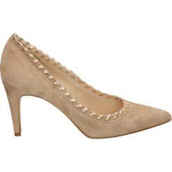 Buty ślubne damskie: Czółenka - 37400 CAM1668