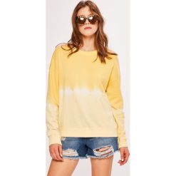 Noisy May - Bluza. Szare bluzy damskie marki Noisy May, l, z bawełny, bez kaptura. Za 119,90 zł.