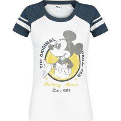 Myszka Miki i Minnie The Original Koszulka damska biały/ciemnoszary melanż. Białe bluzki asymetryczne Myszka Miki i Minnie, s, melanż, z okrągłym kołnierzem. Za 121,90 zł.