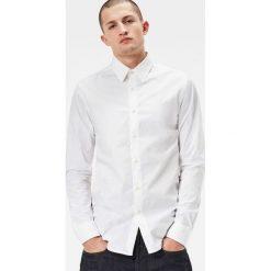G-Star Raw - Koszula. Niebieskie koszule męskie na spinki marki bonprix, m, z nadrukiem, z klasycznym kołnierzykiem, z długim rękawem. Za 329,90 zł.