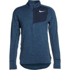 Koszulki sportowe męskie: Nike Performance RUNNING THERMA SPHERE Koszulka sportowa obsidian/heather/reflective silver