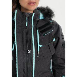 Superdry ULTIMATE SNOW SERVICE Kurtka snowboardowa black grit/fluro mint. Czarne kurtki damskie narciarskie Superdry, l, z materiału. W wyprzedaży za 879,20 zł.
