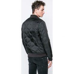 G-Star Raw - Kurtka bomber. Czarne kurtki męskie bomber marki G-Star RAW, l, z elastanu, retro. W wyprzedaży za 359,90 zł.