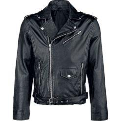 Classic Style kurtka skórzana Kurtka skórzana czarny. Czarne kurtki męskie bomber Classic Style, l, z materiału, klasyczne. Za 649,90 zł.