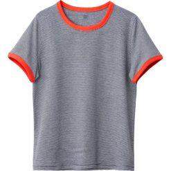Bluzki dziewczęce: Krótka koszulka w paski 10-16 lat