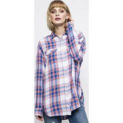 Lee - Koszula. Szare koszule damskie w kratkę Lee, l, z tkaniny, casualowe, z klasycznym kołnierzykiem, z długim rękawem. W wyprzedaży za 139,90 zł.