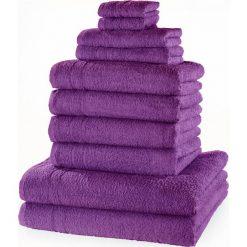 """Bielizna męska: Komplet ręczników """"New Uni""""(10 części) bonprix lila"""
