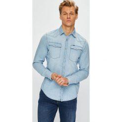 G-Star Raw - Koszula. Szare koszule męskie jeansowe marki G-Star RAW, m, z klasycznym kołnierzykiem, z długim rękawem. Za 369,90 zł.
