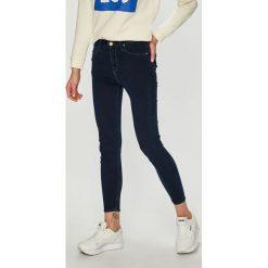 Lee - Jeansy Scarlett High Croppe. Niebieskie jeansy damskie rurki marki House, z jeansu. Za 329,90 zł.