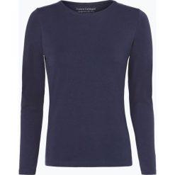 Franco Callegari - Damska koszulka z długim rękawem, niebieski. Niebieskie t-shirty damskie Franco Callegari, z bawełny. Za 89,95 zł.