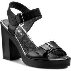 Rzymianki damskie: Sandały ANN MEX – 7486 01S Czarny