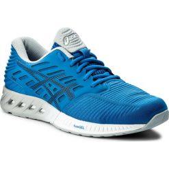 Buty ASICS - FuzeX T639N Directoire Blue/Peacoat Mid Grey 4358. Niebieskie buty sportowe męskie Asics, z materiału, do biegania, asics fuzex. W wyprzedaży za 349,00 zł.
