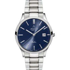 Zegarek Atlantic Męski Sealine 62346.41.51 Szafirowe szkło srebrny. Niebieskie zegarki męskie Atlantic, srebrne. Za 816,99 zł.