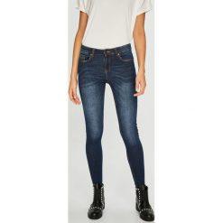 Medicine - Jeansy Basic. Niebieskie jeansy damskie rurki MEDICINE, z bawełny. Za 119,90 zł.