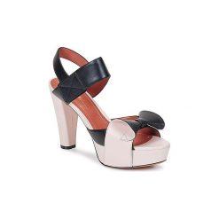Sandały Sonia Rykiel  667726-2. Brązowe sandały damskie Sonia Rykiel. Za 2071,20 zł.