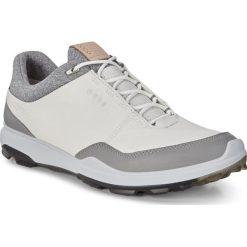 Swetry męskie: ECCO M Golf Biom Hybrid 3 – Biały – 39