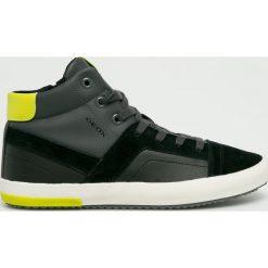 Geox - Buty. Szare buty skate męskie Geox, z gumy, na sznurówki. W wyprzedaży za 279,90 zł.