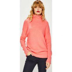 Medicine - Sweter Basic. Pomarańczowe swetry oversize damskie MEDICINE, l, z dzianiny. Za 119,90 zł.