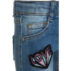 Mothercare BADGE  Jeans Skinny Fit denim. Niebieskie rurki damskie mothercare, z bawełny. Za 129,00 zł.