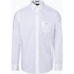 Gant - Koszula męska, czarny. Czarne koszule męskie na spinki marki GANT, m. Za 299,95 zł.