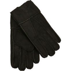 Rękawiczki męskie. Brązowe rękawiczki męskie Gino Rossi, na zimę, z nubiku. Za 109,90 zł.