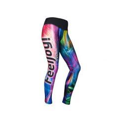 Legginsy damskie do biegania: LEGGINSY EXCLUSIVE RAINBOW