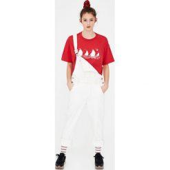 Bluzki, topy, tuniki: Koszulka basic z łódkami