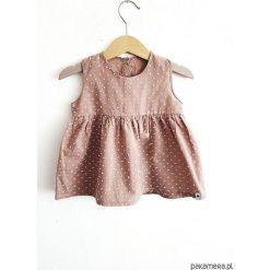 Sukienki niemowlęce: bluzka plumeti