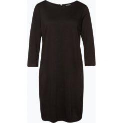 Vila - Sukienka damska, czarny. Czarne sukienki z falbanami marki Vila, m, w paski, z dżerseju. Za 119,95 zł.
