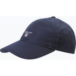 Gant - Męska czapka z daszkiem, niebieski. Niebieskie czapki z daszkiem męskie marki GANT, z bawełny, sportowe. Za 129,95 zł.