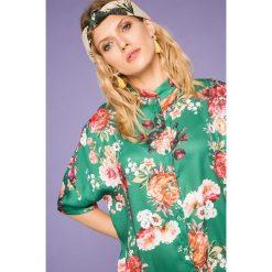 Medicine - Koszula Cute and Bleak. Szare koszule wiązane damskie MEDICINE, uniwersalny, z poliesteru, z krótkim rękawem. W wyprzedaży za 59,90 zł.