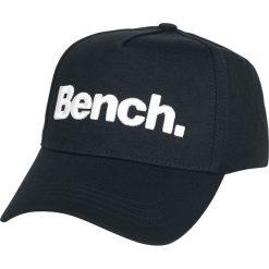 Bench Logo Czapka baseballowa czarny. Czarne czapki z daszkiem damskie Bench, z aplikacjami, z tworzywa sztucznego. Za 62,90 zł.
