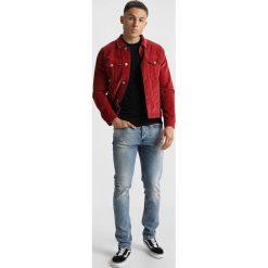 Denham BOLT Jeans Skinny Fit blue denim. Niebieskie rurki męskie marki Criminal Damage. Za 669,00 zł.