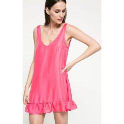 Kiss my dress - Sukienka. Szare sukienki mini marki Kiss My Dress, na co dzień, l, z lyocellu, casualowe. W wyprzedaży za 49,90 zł.