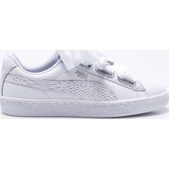 Puma - Buty Basket Heart Oceanaire. Szare buty sportowe damskie Puma, z gumy. W wyprzedaży za 299,90 zł.
