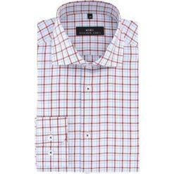 Koszula RICCARDO 15-07-13. Szare koszule męskie na spinki marki S.Oliver, l, z bawełny, z włoskim kołnierzykiem, z długim rękawem. Za 229,00 zł.