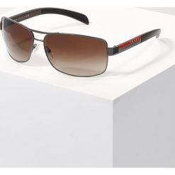 Okulary przeciwsłoneczne męskie: Prada Linea Rossa LIFESTYLE Okulary przeciwsłoneczne gunmetal/brown