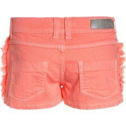Jeansy dziewczęce: Cars Jeans KIDS RISSA  Szorty jeansowe fluor coral
